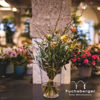 Blumenstrauß mit Französischen Tulpen